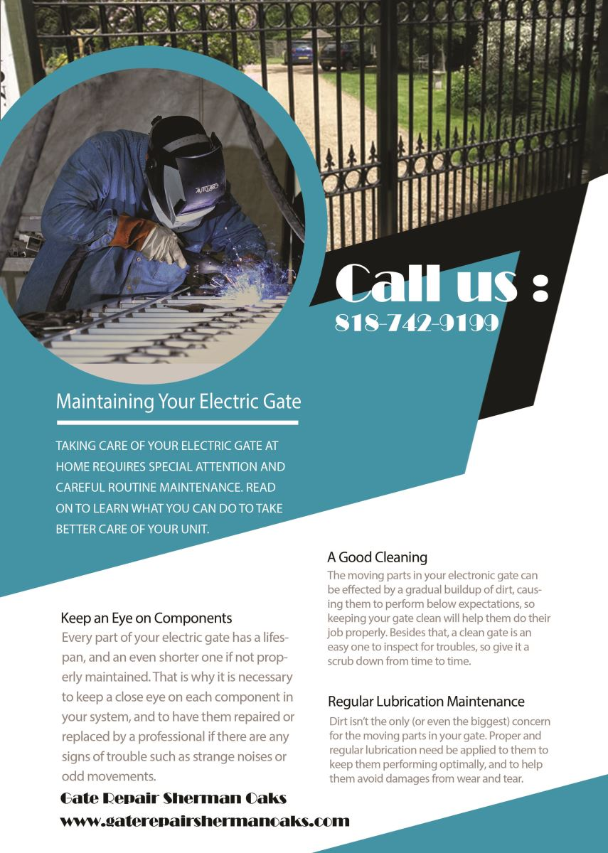 Our Infographic Gate Repair Sherman Oaks